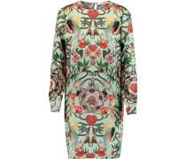 Mother Amazon Printed Hammered-silk Mini Dress Mehrfarbig