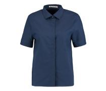 Morag Cotton-piqué Shirt Navy