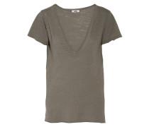 Slub Jersey T-shirt Grau