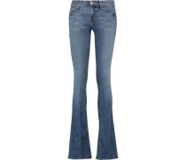 The Runaway mid-rise flared jeans