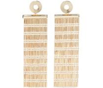 22-karat -plated Earrings