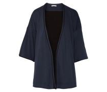 Karen Pima Cotton-jersey Robe Rauchblau