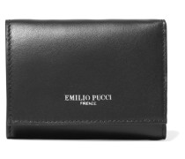 Leather Wallet Schwarz