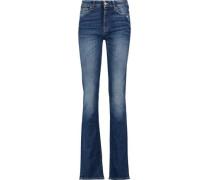Kimmie mid-rise slim-leg jeans