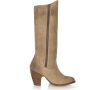 Angela Suede Knee Boots