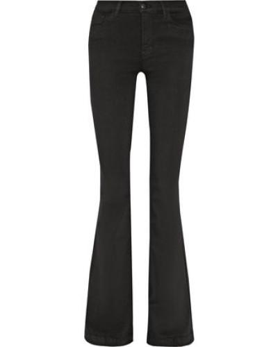 Maria High-rise Flared Jeans Black  4