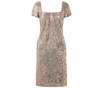 Kleid aus Tüll mit Pailletten