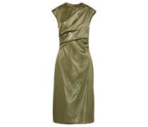 Edie Ruched Lamé Dress