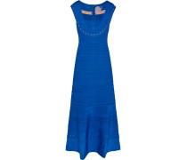 Cutout Bandage Gown Königsblau