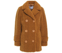 Lou Double-breasted Faux Shearling Jacket