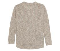 Bouclé-knit Sweater Puder
