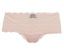 Sweet Treats Scalloped Point D'esprit Low-rise Briefs