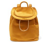 Satin Backpack Sonnengelb