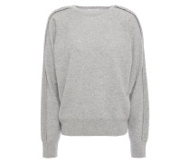 Scalloped Wool And Cashmere-blend Sweater