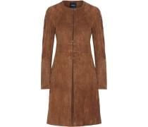 Alvington Suede Coat Braun