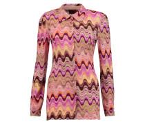 Crochet-knit Shirt Mehrfarbig
