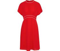 Gathe Crepe Dress