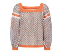 Gisele Bedruckte Bluse aus Baumwolle