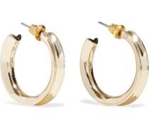-plated Hoop Earrings
