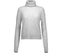 Atticus Cashmere Turtleneck Sweater Hellgrau