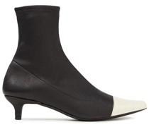 Karl Ankle Boots aus Stretch-leder