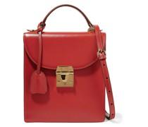 Uptown Textu-leather Shoulder Bag