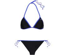 Two-tone Triangle Bikini