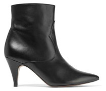 Meryl leather ankle boots