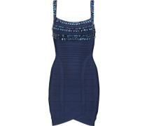 Embellished Bandage Mini Dress Mitternachtsblau