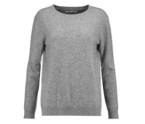 Heart intarsia wool and cashmere-blend sweater