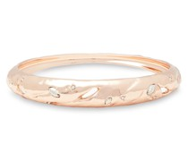 -tone Crystal Bangle