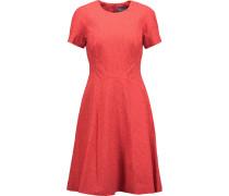 Matelassé Cotton-blend Dress Korall