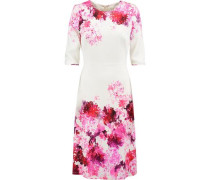 Arianna floral-print crepe dress