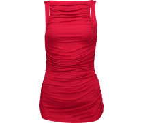 Parvati Ruched Stretch-jersey Top Rot
