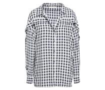 Gingham Seersucker Shirt