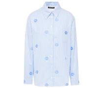 Tyler Hemd aus Baumwoll-jacquard mit Streifen