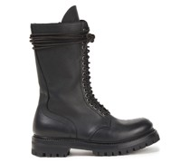 Pebbled-leather Boots