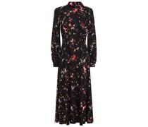 Kayla Floral-print Stretch-crepe Midi Dress