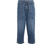 The Chore cropped wide-leg jeans