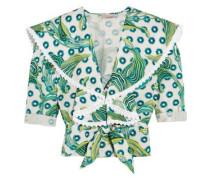 Florrie printed cotton top