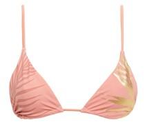 Triangel-bikini-oberteil mit Print