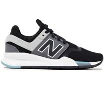 Sneakers aus Mesh und Neopren