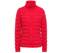 Quilted Shell Jacket Tomato Red