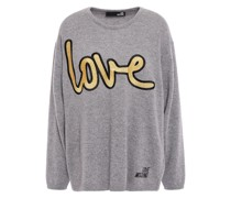 Metallic Embroidered Knitted Sweater