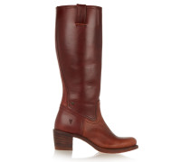 Sabrina Leather Boots Brown