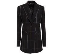 Checked Wool-twill Blazer