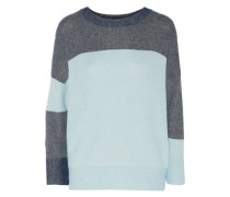 Melanie color-block knitted sweater