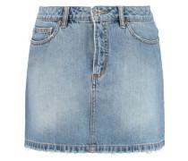 Icon faded denim skirt
