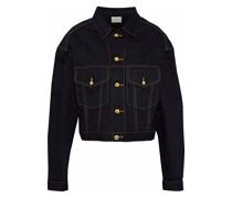 Keya Cropped Denim Jacket