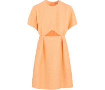 Tinker cutout jacquard mini dress